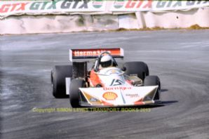 "March 752 Cosworth GAA Val Musetti  Shellsport Gp8 May  1977 7x5"" photo"